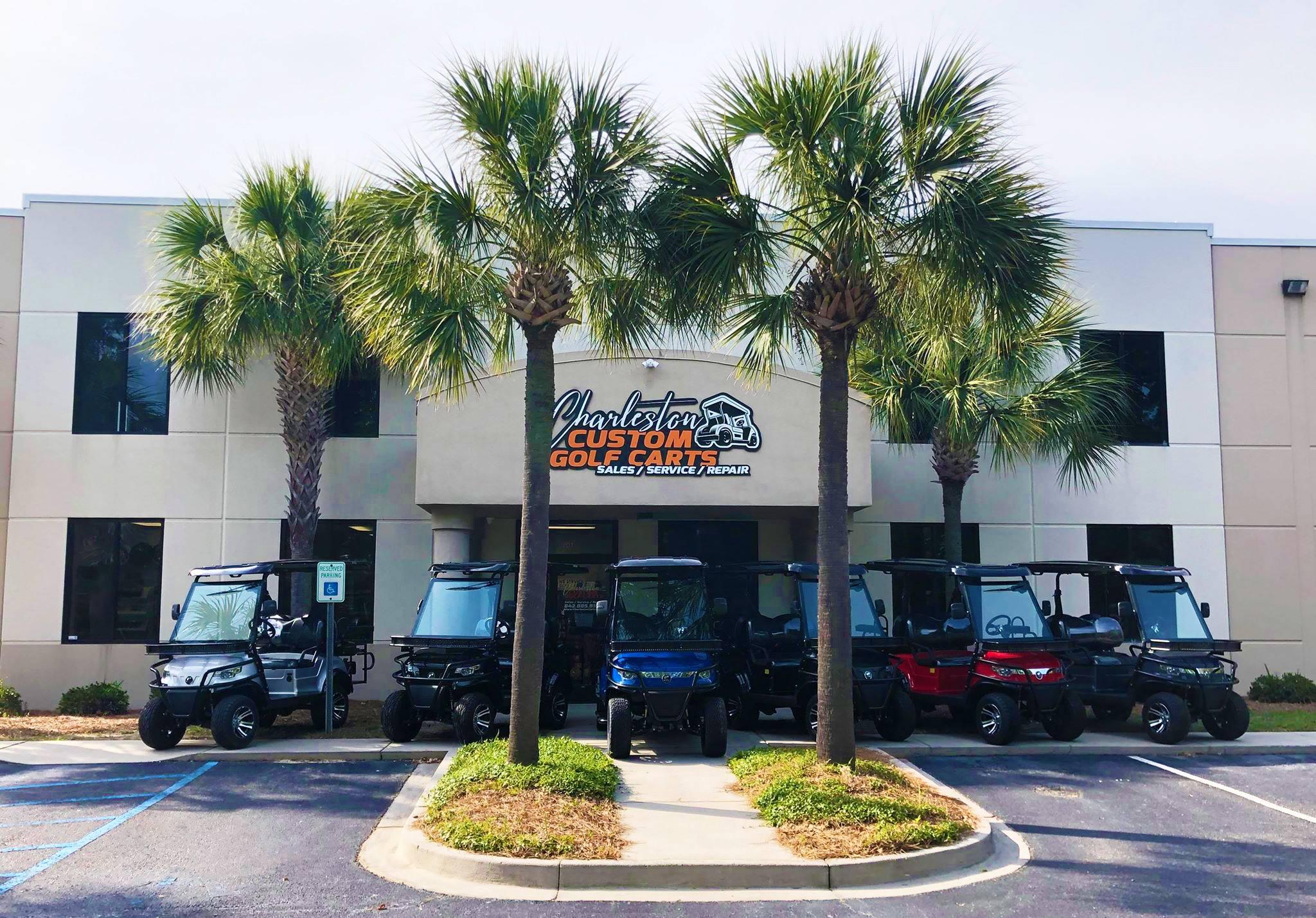Charleston Custom Golf Carts