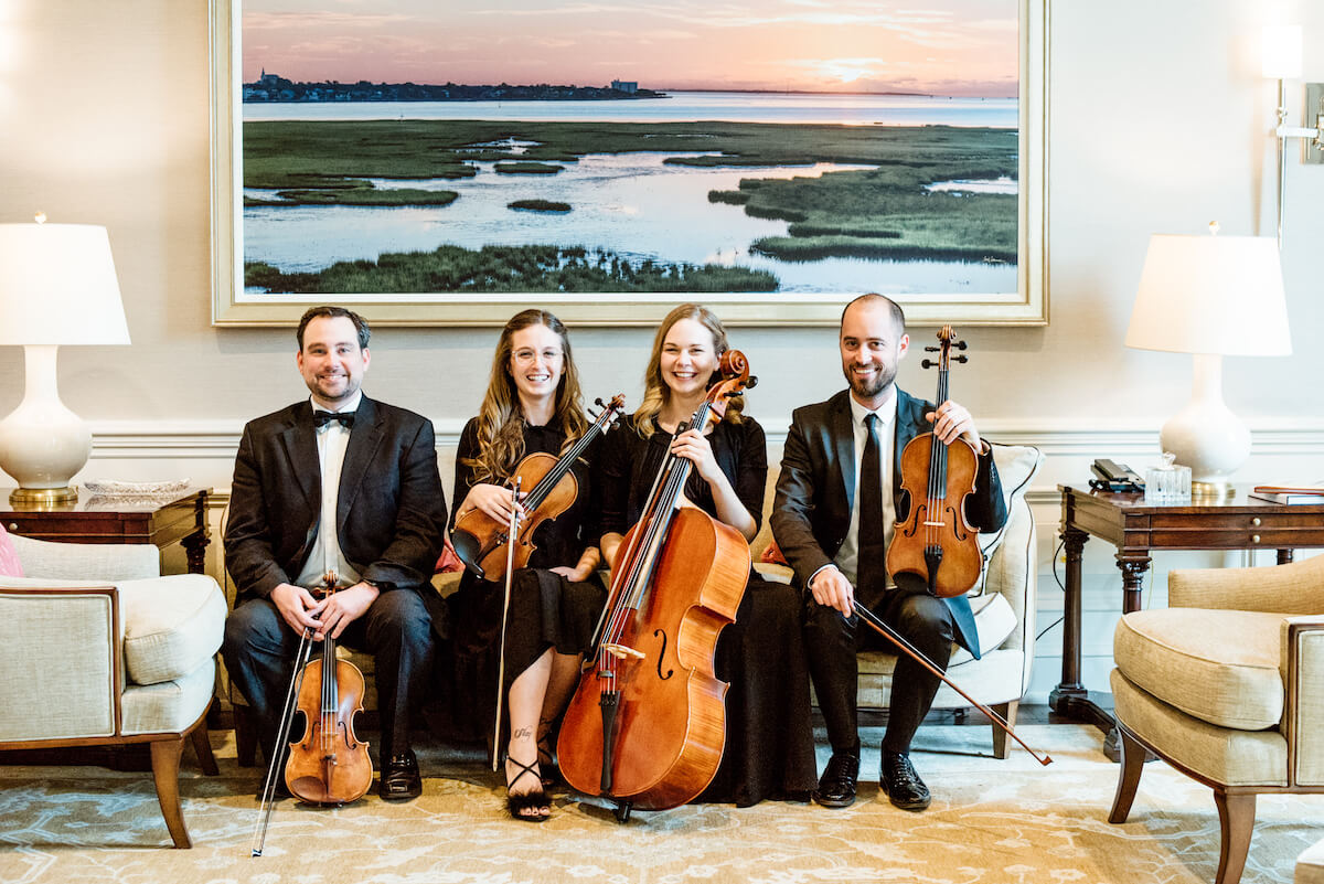 Charleston Virtuosi Wedding Music – Ceremony String Quartet, Bands DJ